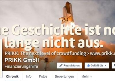Social Media Schulung für PRIKK Crowdfunding